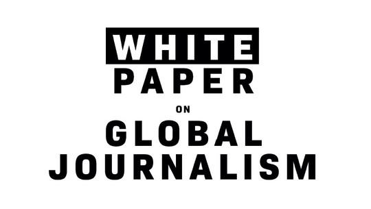 image le Livre blanc sur le journalisme mondial